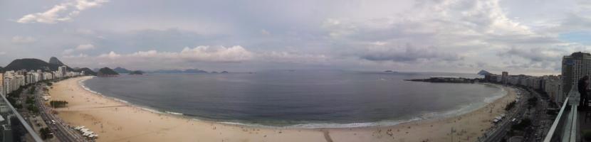 Copacabana panaroma