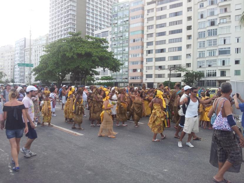 Copacabana random African Band